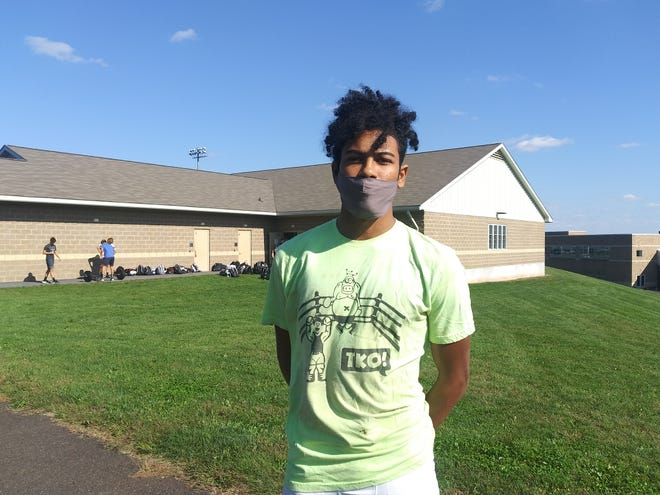 Pennridge senior safety/wide receiver Fabian Padin is a three-year starter in the secondary.