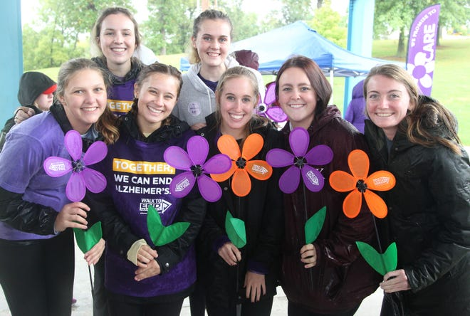 Daily Express file photo from the 2018 Kirksville Walk to End Alzheimer's.