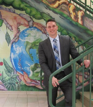 Mike Hayes took the reins as principal of Aurora High School at the beginning of the school year.