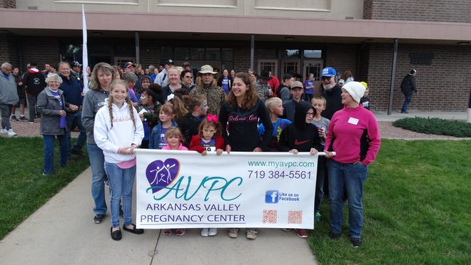 The Arkansas Valley Pregnancy Center's Annual Walk For Life event became a virtual event this year in light of the ongoing COVID-19 pandemic. [CHRISTIAN BURNEY]
