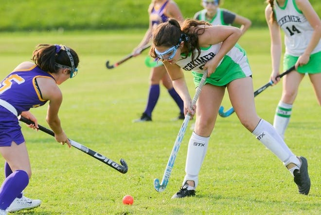 Herkimer, shown in action last season, is among the field hockey teams in the area set to play Wednesday.