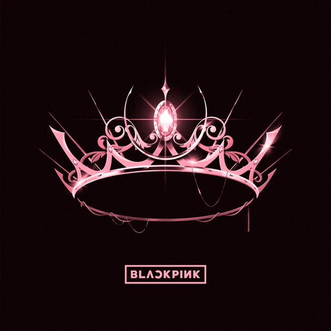 "This cover image released by YG Entertainment/Interscope shows ""The Album,"" a release by Blackpink."