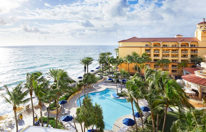 Eau Palm Beach resort in Manalapan was voted the third best resort in Florida by voting in the Condé Nast Traveler's 2020 Readers' Choice Awards.