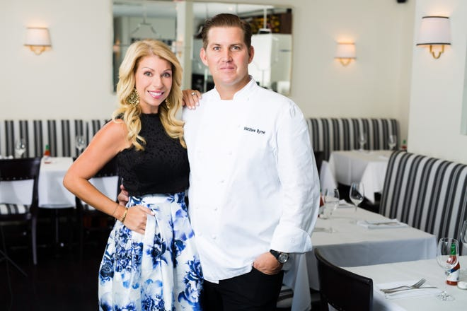 Aliza Byrne and Chef Matthew Byrne own and operate Kitchen restaurant in West Palm Beach. They will open a second location at Alton Town Center next month.