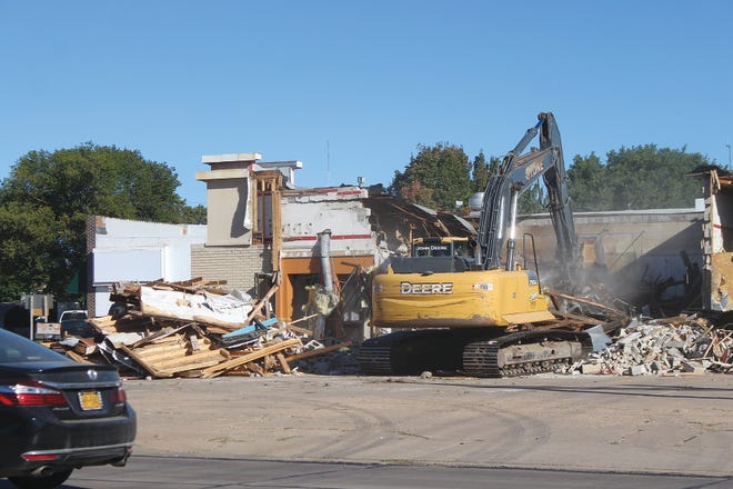 Demolition began this past week on the old KFC building, located on the NE corner of First and Main streets in Pratt. History was revealed in the teardown, prompting memories of years past for some. According to city leaders, up next at that location is a Scooters Coffee Shop.
