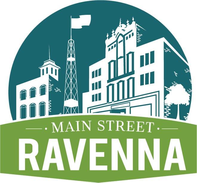 Main Street Ravenna's logo.