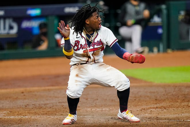 Ronald Acuna Jr. and the Atlanta Braves will be looking to take a 2-0 lead in their National League Division Series when they face the Miami Marlins on Wednesday.