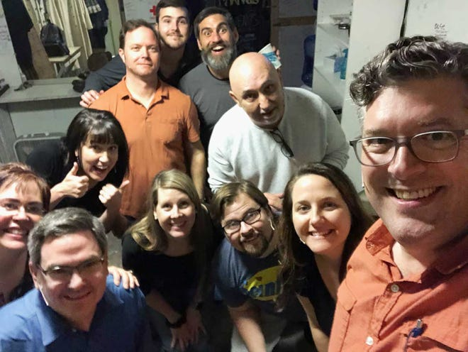 The New Bern comedy group Walk-In Bathtub performs Oct. 10 with an eight-hour Improv-A-Thon fundraising event for New Bern Civic Theater.