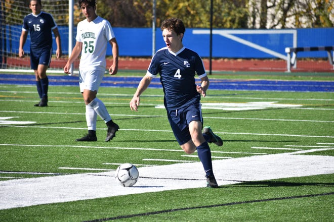 Burke Catholic senior midfielder Kyle Trapp has overcome a liver ailment to earn an opportunity to play college soccer at Misericordia. THR FILE PHOTO