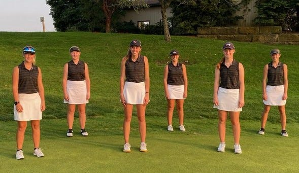 The Tusky Valley girls golf team will head to the Division II State Tournament next week.