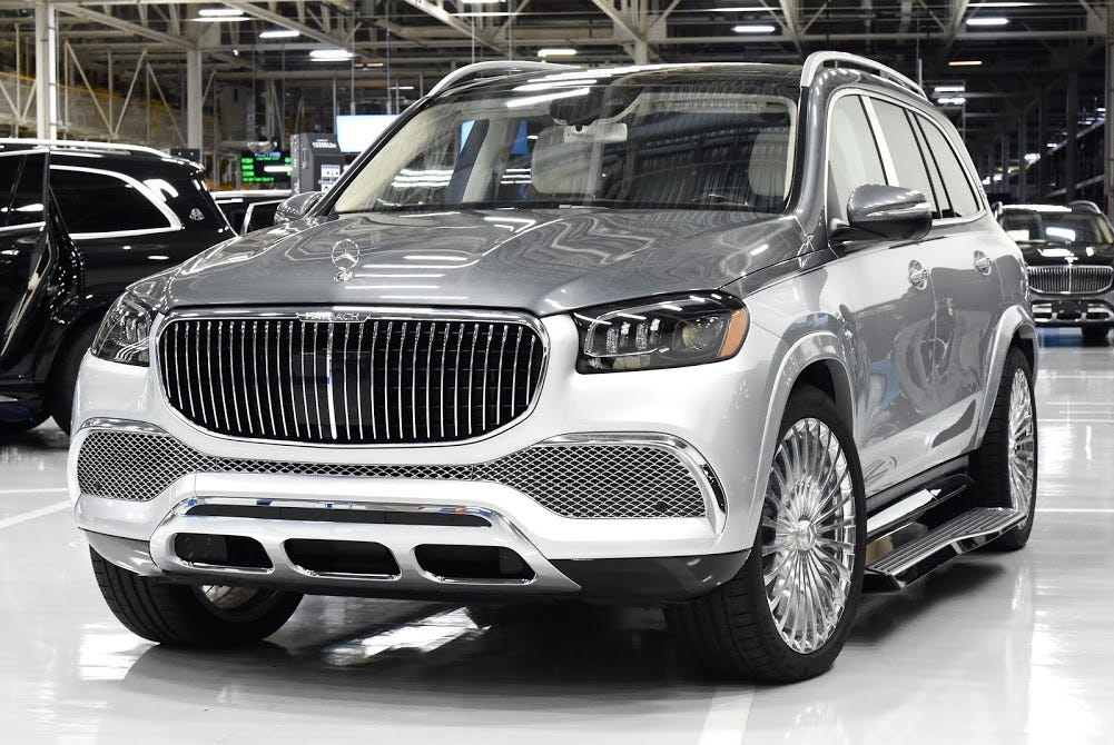 Mercedes Production Of Maybach Suv Begins In Alabama