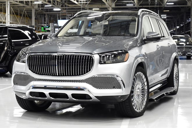 Production on the Maybach luxury SUV has begun at the Mercedes-Benz U.S. International Plant in Tuscaloosa County.