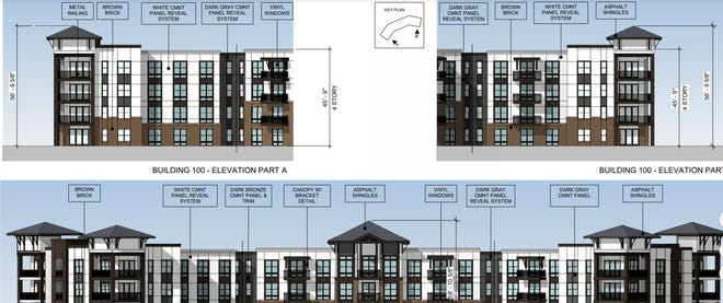 A Georgia development company plans to build 852 apartments and single family units on a site off Sweeten Creek Road south of the Blue Ridge Parkway.