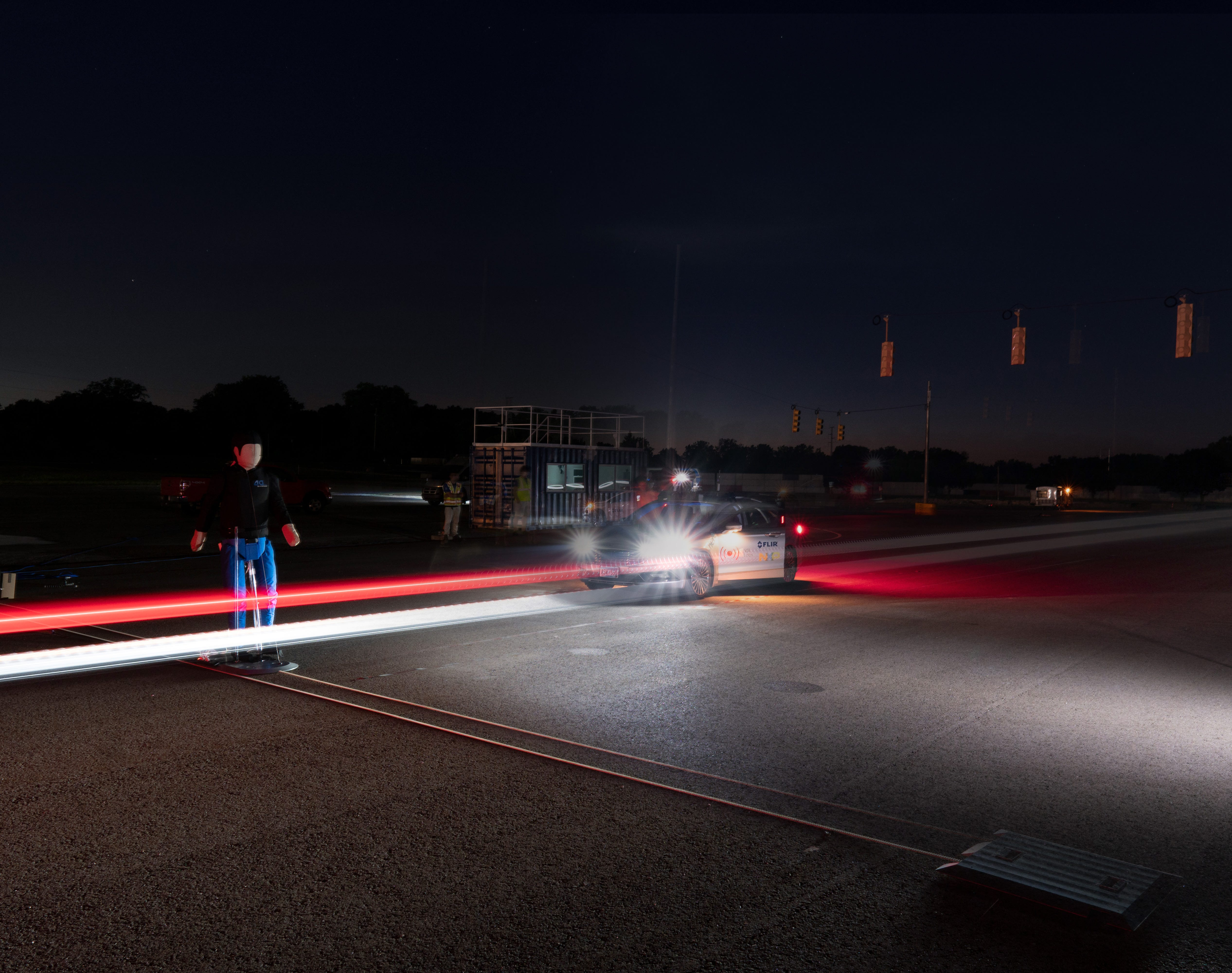 Night vision for cars: Fighting the pedestrian safety crisis