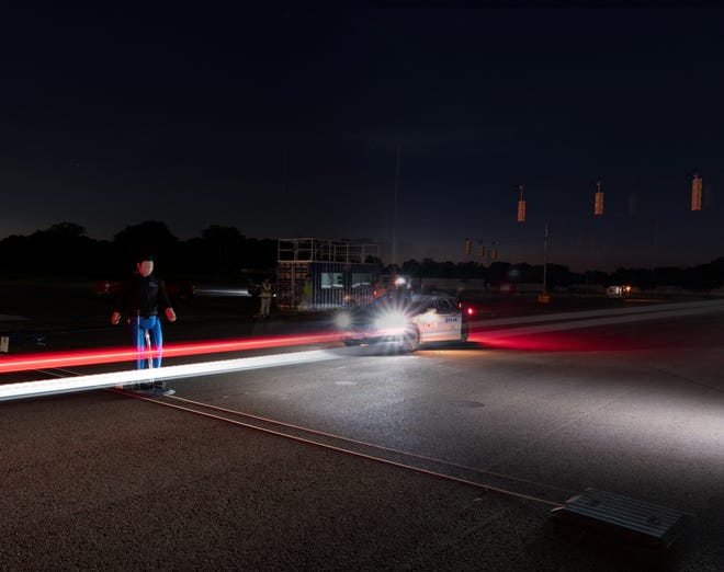 Thermal imaging company FLIR recently conducted testing in Michigan to show how its sensors could help advanced driver assistance systems detect pedestrians in dark conditions. (Photo: FLIR)
