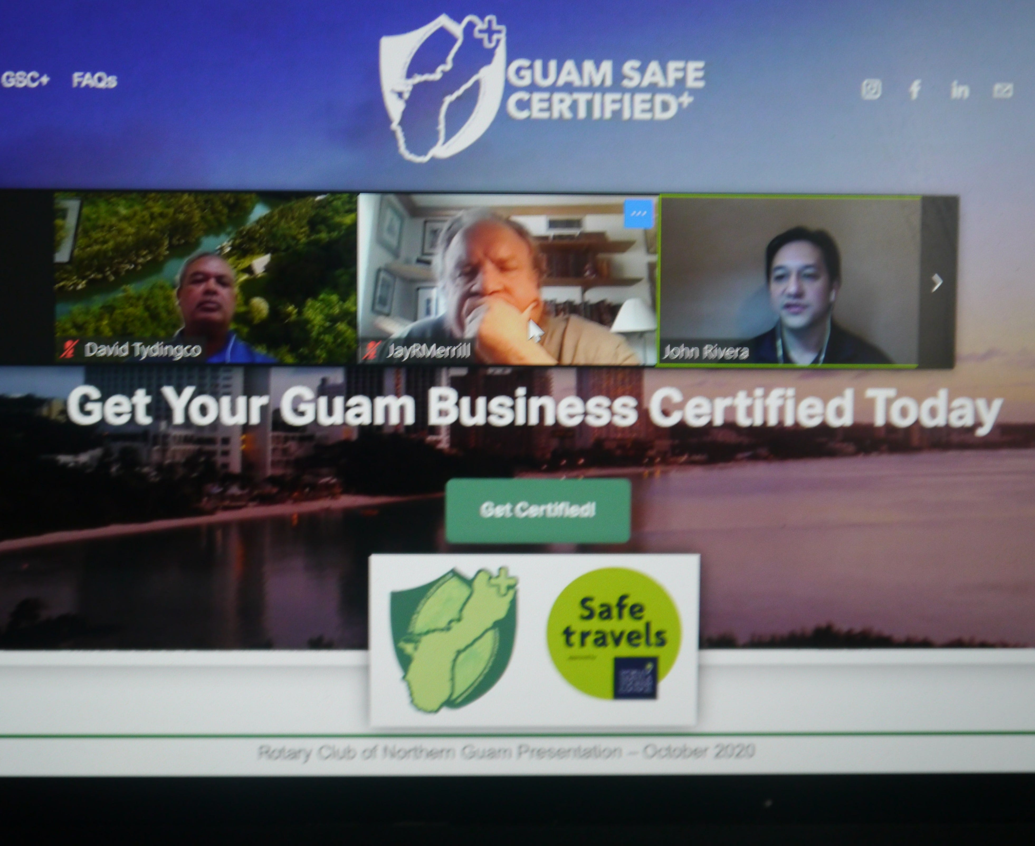 Rotary Club of Northern Guam via Zoom