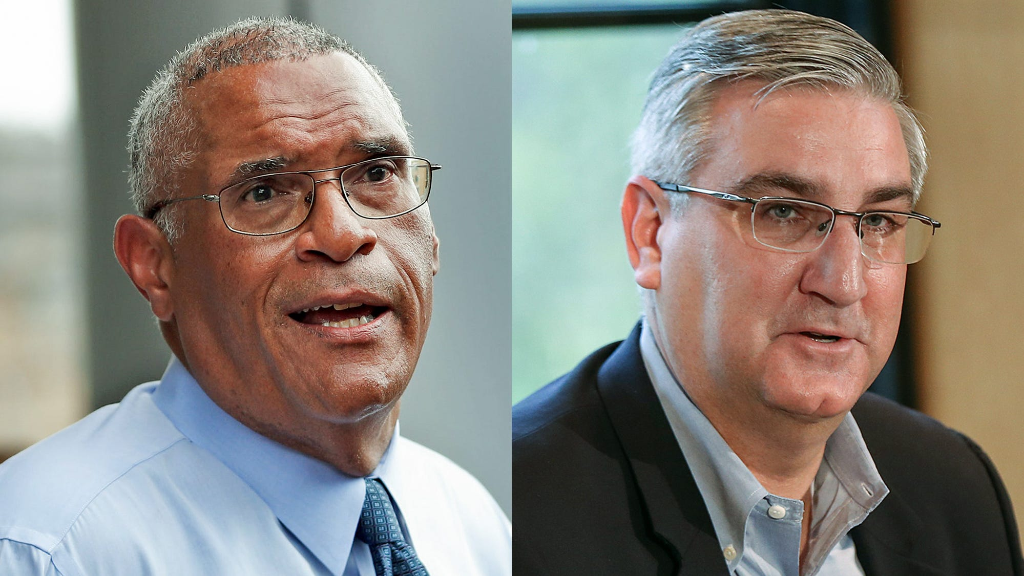Poll shows Holcomb with comfortable lead