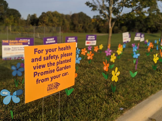 More than 400 walkers participated in the Brighton Walk to End Alzheimer's on Oct. 3, 2020. The walk raised more than $133,000. The event was virtual this year due to the COVID-19 outbreak.