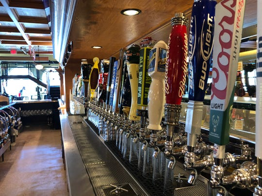 Brothers Bar and Grill has 40 tap lines.  It is reopening on Oct. 8 at 1213 N. Water St.