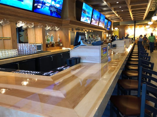 Brothers Bar and Grill has a custom 40-foot long bar on the first floor. It is reopening on Oct. 8, 2020 at  1213 N. Water St.