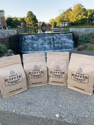 Falls Coffee Co., a Menomonee Falls-based online coffee business which opened Sept. 1, combines coffee with supporting law enforcement.