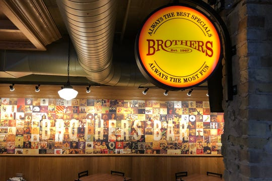 Brothers Bar and Grill is reopening at 1213 N. Water St. on Oct. 8. It is twice the size of its previous space and now has a full kitchen, 45 TVs, outdoor beer garden and more.