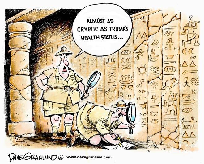 Trump's health status.
