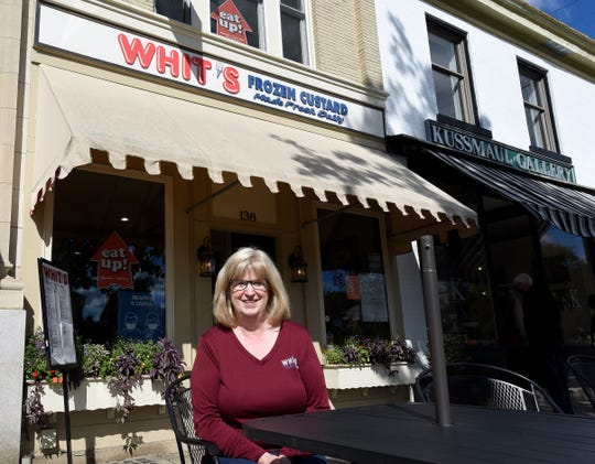 Granville residents Anne Love and husband, Gary, bought the Granville Whit's in 2012. Now Anne runs the Granville store and Gary the location in Heath.