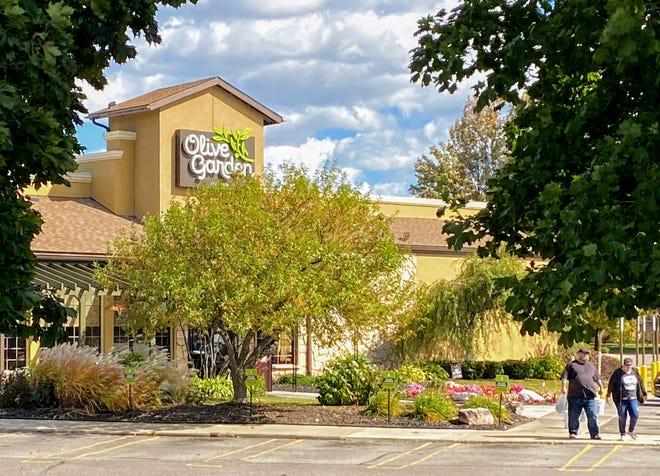 Olive Garden in Livonia.