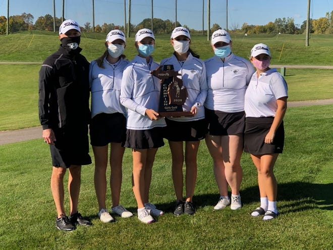Plymouth girls golf won the MHSAA regional title, and will play in the state meet Oct. 16.