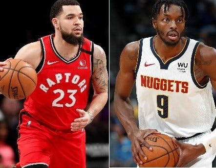 Fred VanVleet and Jerami Grant are on Phoenix Suns' free-agent radar according to reports.