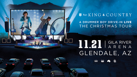 Phoenix concert announcements: For King & Country Christmas Drive-In Tour plays Glendale