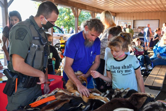 Lower Windsor Township hosts the 2020 National Night Out at Rexroth Park, Tuesday, October 6, 2020. John A. Pavoncello photo