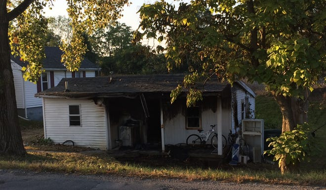 Richmond Fire Department extinguished a fire early Wednesday at a house in the 700 block of North West L Street.