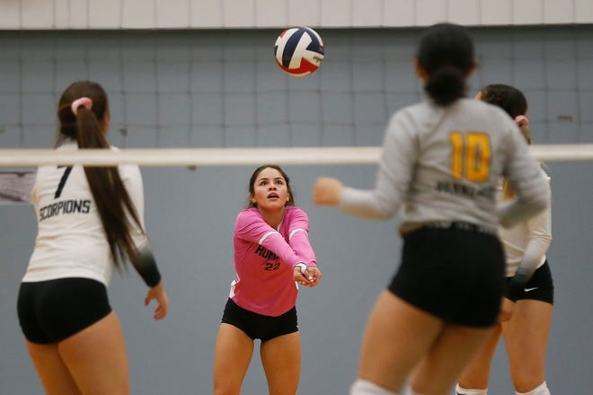 Horizon goes against Parkland Tuesday, Oct. 6, at Horizon High School.