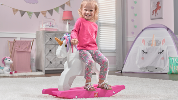The 26 best gifts and toys for 1-year-olds: Step2 Unicorn Rocking Horse