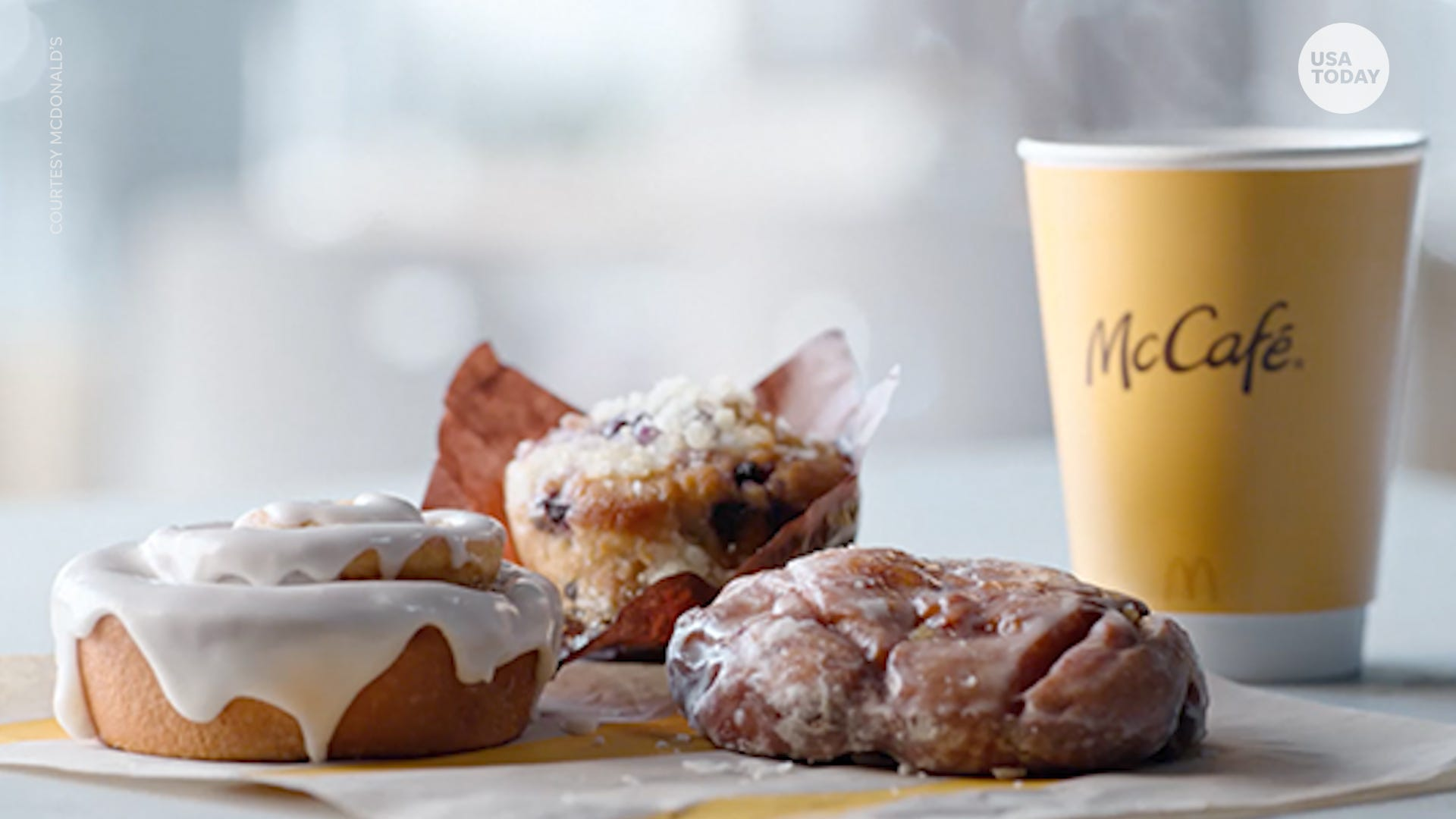 Free McDonald's pastries: McDonald's offers its new pastry with the purchase of a coffee