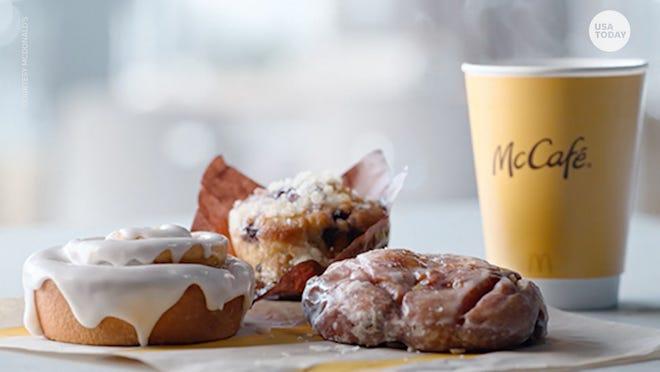 McDonald's new baked goods aren't just for breakfast.