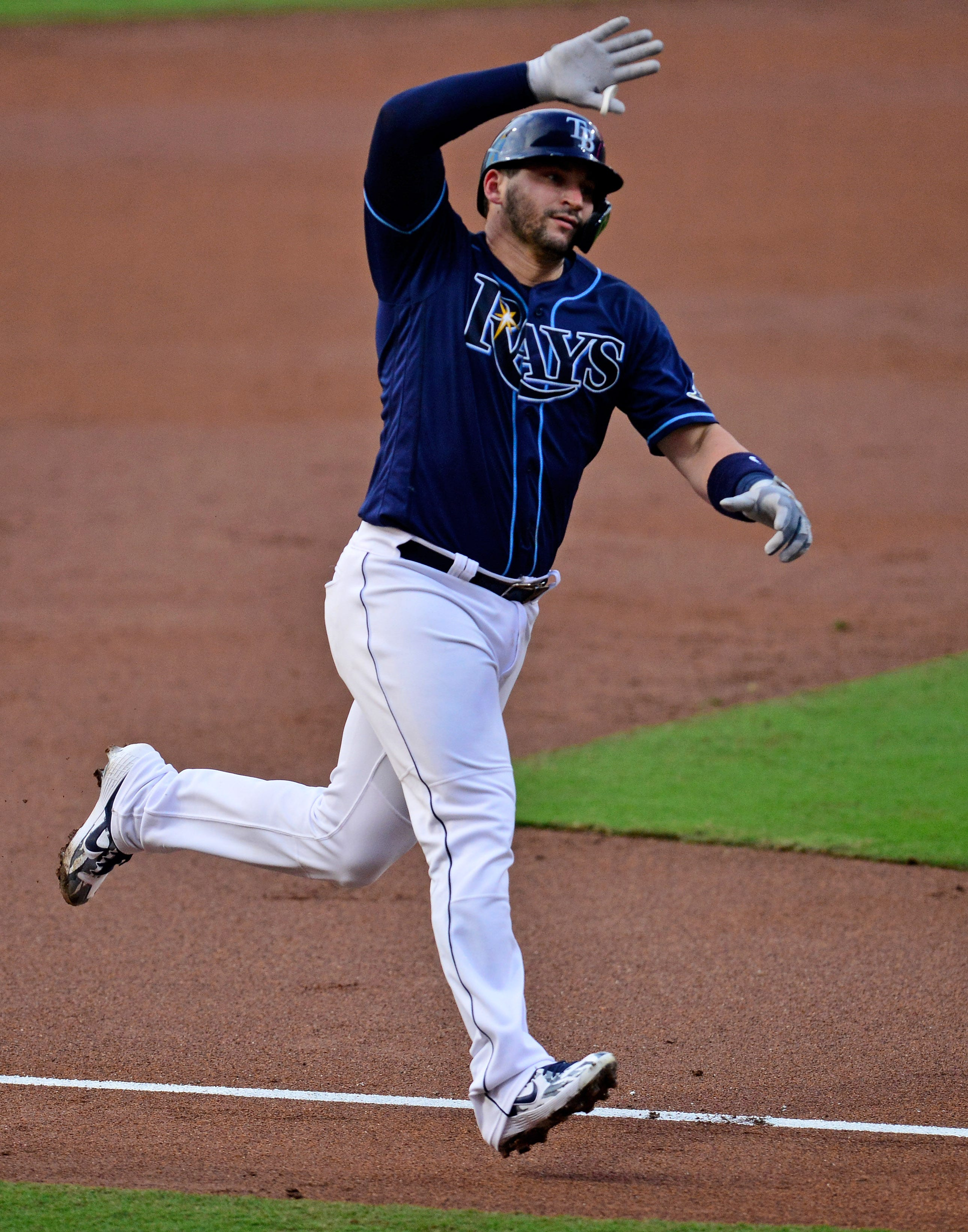 Yankees strategy backfires, Rays slug four homers to even ALDS 1-1