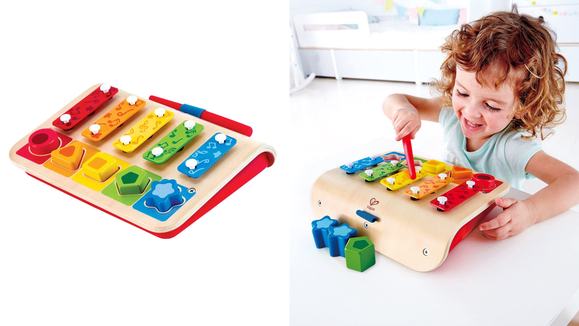 The 26 best gifts and toys for 1-year-olds: Hape Shape Sorter Xylophone