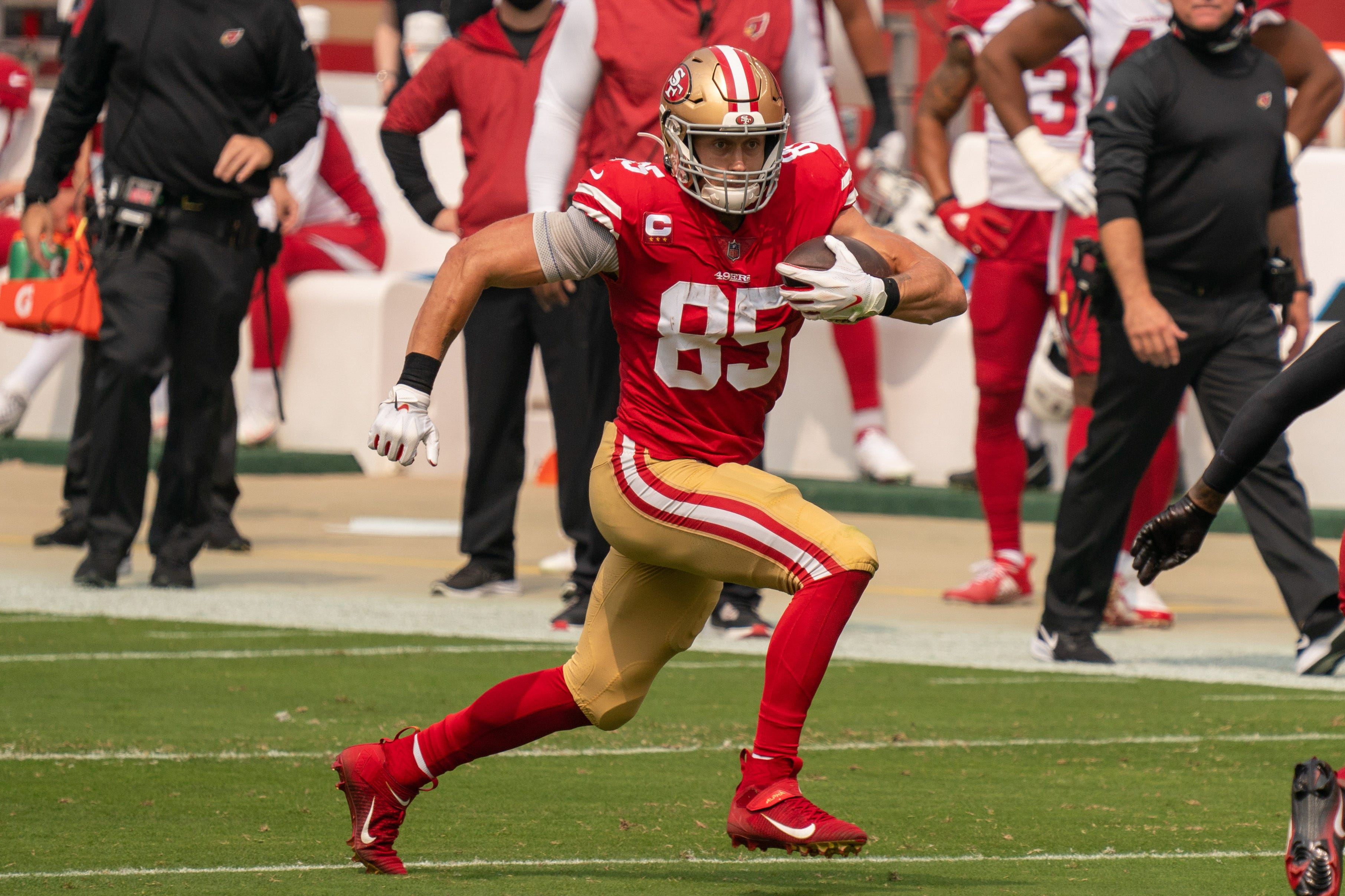 Fantasy football rankings for Week 5: Another monster game on tap for George Kittle?