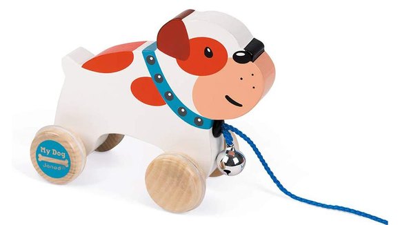 The 26 best gifts and toys for 1-year-olds: Janod My Dog Pull Along