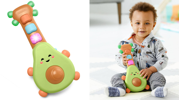 The 26 best gifts and toys for 1-year-olds: Skip Hop Rock-a-Mole guitar