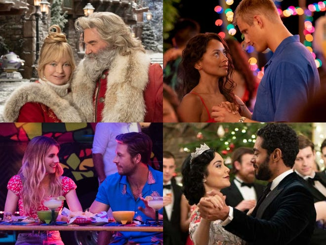 """The Christmas Chronicles 2,"" ""Operation Christmas Drop,"" ""Holidate"" and ""The Princess Switch: Switched Again"" are all coming to Netflix for the holiday season."