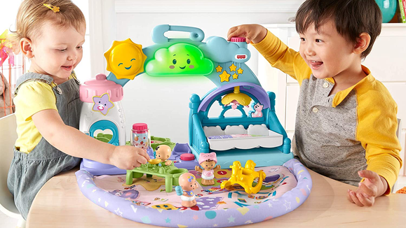 The 26 best gifts and toys for 1-year-olds: Little People 1-2-3 Babies Playset