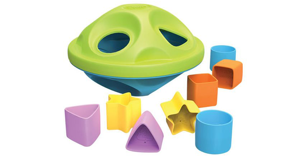 The 26 best gifts and toys for 1-year-olds: Green Toys Shape Sorter