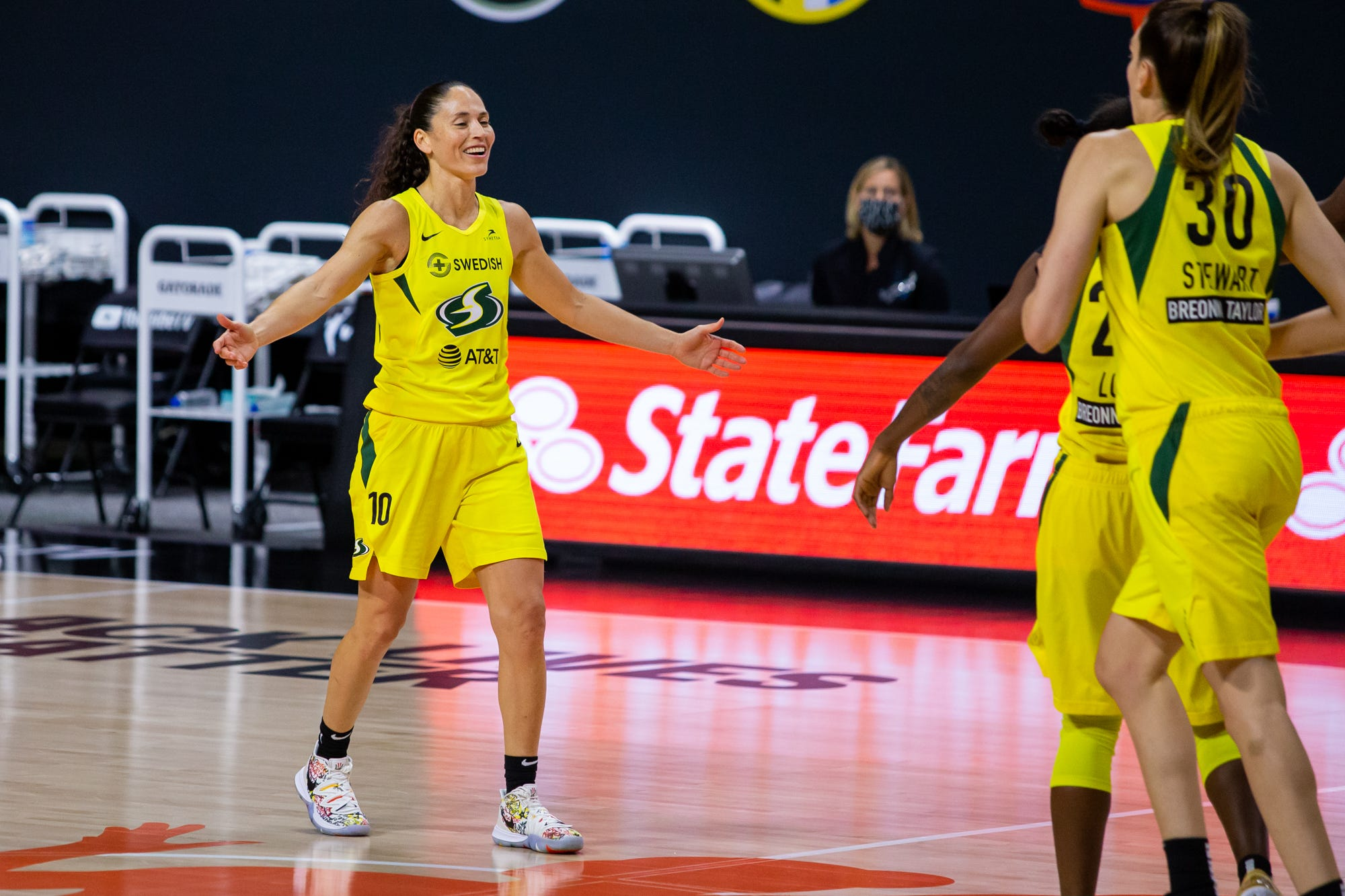 Seattle Storm sweep Las Vegas Aces to win their fourth WNBA championship
