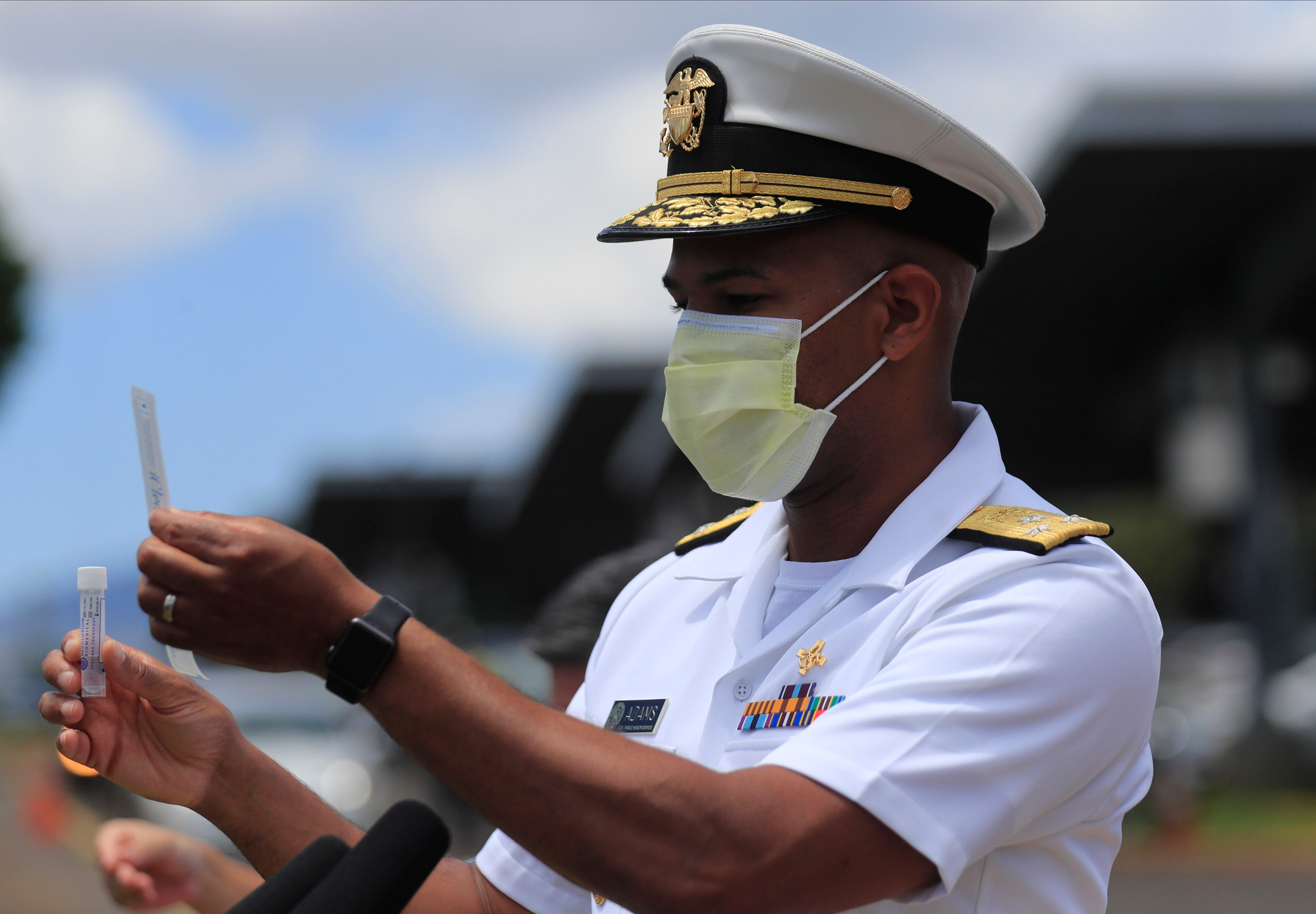 US surgeon general Jerome Adams cited for visiting closed Hawaii park