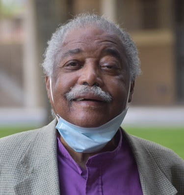 Charles Hicks poses for a portrait in Washington, D.C., on Oct. 5, 2020. Hicks, a lifelong civil rights activist, organized a Black Fathers Matter motorcade through the nation's capital this year.
