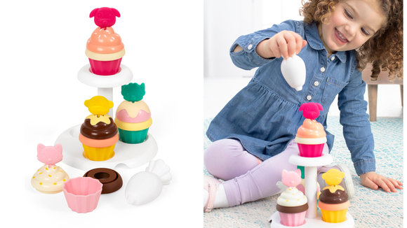 The 26 best gifts and toys for 1-year-olds: Skip Hop Sort and Stack Cupcakes